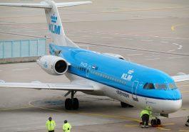 avión KLM