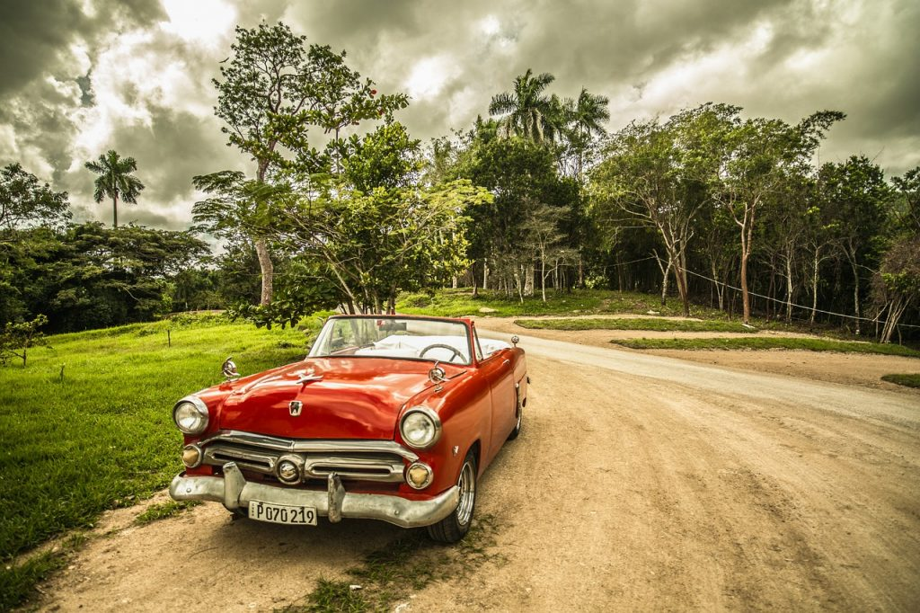 coche antiguo cuba